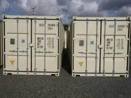 2 Container 20 pés