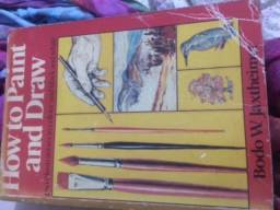 Livro How to Paint and Draw