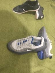 Tênis Nike   e sapatênis Lacoste