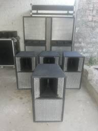 conjunto de caixas de som (preço para vender logo) não vendo separadamente