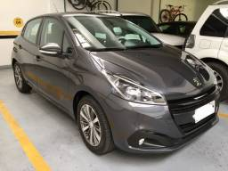 Peugeot 208 Griffe 1.6 AT. 2019/2020 -Único Dono -Apenas 7.000 KM