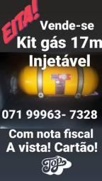 Kit gás  natural GNV 17mt injetável