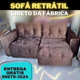 Sofá Retrátil - Entrega Grátis
