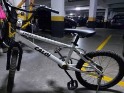 Bicicleta CALOI Cross Alluminium novinha Aro 20