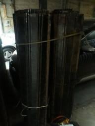 Porta aço para loja tenho duas 1.76 largura 3.50 alt