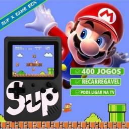 Vídeo Game Retro Clássico 400 Jogos Portátil.