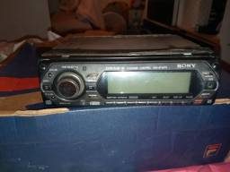 Radio automotivo pra carro usado na promocao