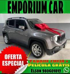 Título do anúncio: COM MIL DE ENTRADA!!!! JEEP RENEGADO 1.8 SPORT AUTOMÁTICO ANO 2019