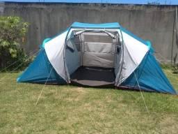 Barraca Quechua Arpenaz Family 4.2 para 4 pessoas
