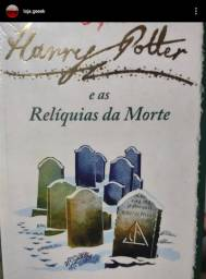 Livro Harry Potter e as relíquias da morte