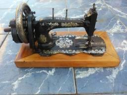 Maquina de costura antiga alemã Clemens Muller