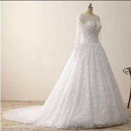 Vestido noiva longo