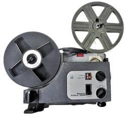Projetor Sankyo Dualux 1000 - 8mm e Super 8. Bom estado. Funcionando