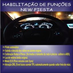 Instalações De Funções Ford New Fiesta