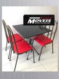 Jogo de Mesa 4 Cadeiras PRONTA ENTREGA
