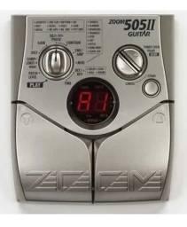 Pedaleira Zoom 505 Ii Com Manual E Fonte