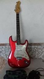 Vendo guitarra com pedaleira