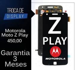 Motorola & Lenovo(Instalação de Display/Touch/Frontal e Bateria)