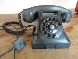 CaTelefone Antigo Preto