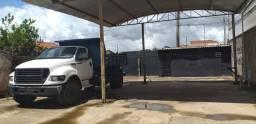 Barracão com almoxarifado e lavador de carros