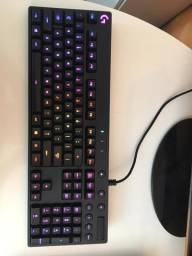 Teclado mecânico gamer - G810 Orion Spectrum Logitech