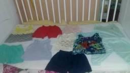 Lote de roupas de bebê 25,00
