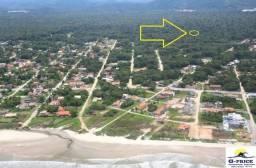Ótimo Terreno para Investimento faltando 40mts para abrir rua, Baln Palmeiras, Itapoá