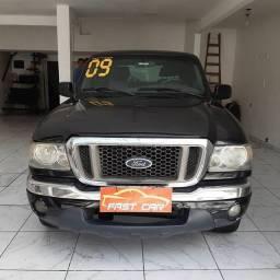 Ranger 2009 COMPLETA cabine dupla c / gnv entrada 7.000 + 48 x 899