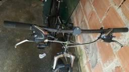Vendo bicicleta frio a disco nas duas rodas passado individual