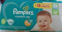 Vendo fralda Pampers