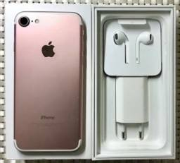 iPhone 7 Rose 128GB - Aceito iPhone e Parcelo