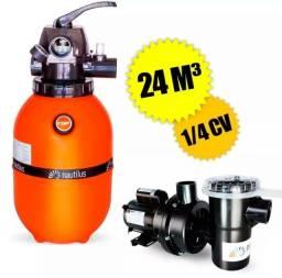 Conjunto para filtração para piscinas F280 $650