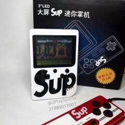 Mini Vídeo Game Portátil sup 400 Jogos Retro Clássico Controle 2 Jogadores