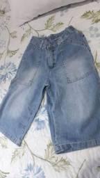 Calça infantil jeans menino