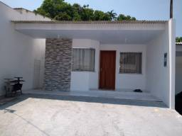 Casa nova, 2 dormitórios sendo 1 suíte, 2 vagas. Resdl. fechado//prox ao vianorte