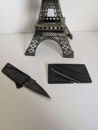 Carteiras em couro PU de ótima qualidade + cartão canivete sempre a mão