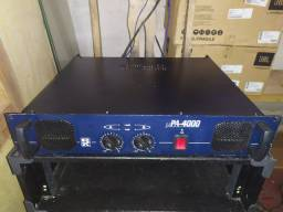 Amplificador de som mecânico e equalizador