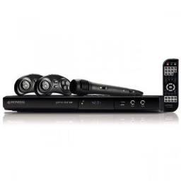 DVD Player com Karaokê Mondial D-18 Preto * e (47) 3644-1550