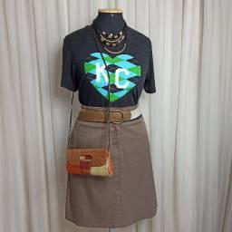 Camiseta, Saia ou Clucth R$17,00
