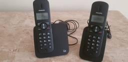 Telefone e extensão sem fio Philips CD180 DUO