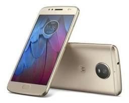 Moto G5s Dourado 32gb biometria