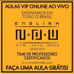 N.O.W - - Inglês VIP Online Ao Vivo - - Professores Certificados