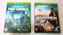 Jogos de Xbox one.