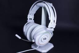 Título do anúncio: Headset Gamer Redragon Lamia 2 Lunar White RGB