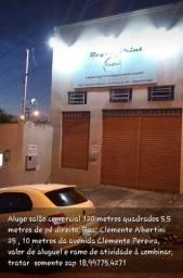 ALUGO SALÃO COMERCIAL em Regente Feijó