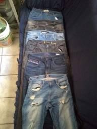 6 Calças Jeans Masculinas