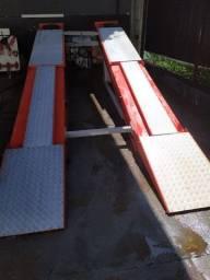 Rampa de alinhamento 4 toneladas - 2 Pistões - Com os Acessórios