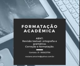 Formatação academica