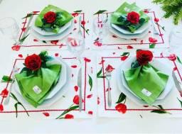 Kit roupas de mesa