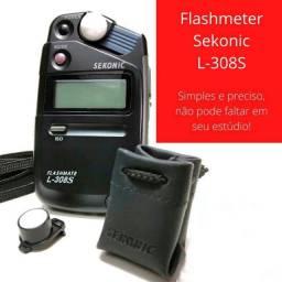 Flashmeter para fotografia em estúdio ou externa - todo fotógrafo deve ter um!
